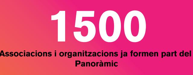 1.500 entitats i associacions participen de #ElPanoràmic 2015