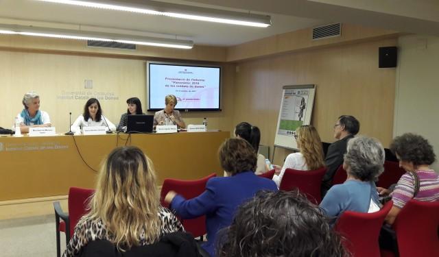 Les entitats de dones de Catalunya, un sector de base, dinàmic i pròxim