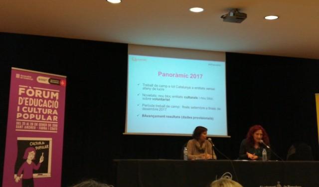 El Panoràmic presenta les primeres dades de l'informe sobre entitats Culturals al Som Cultura Popular