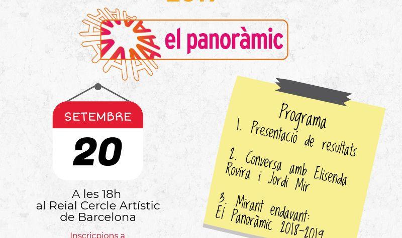 La presentació d'El Panoràmic ja té dia i hora!