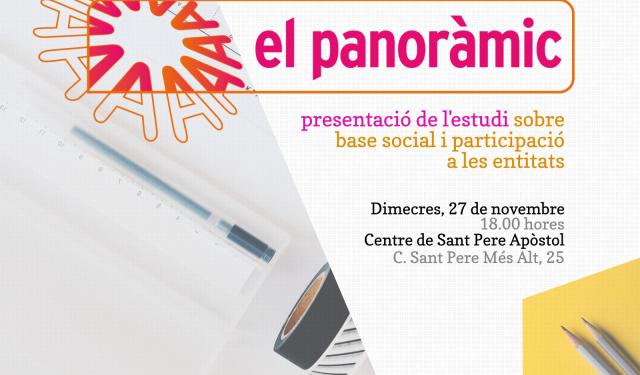 El 27 de novembre, presentació d'El Panoràmic